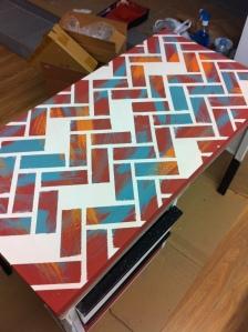 Recuperando muebles_DIY mesa 6
